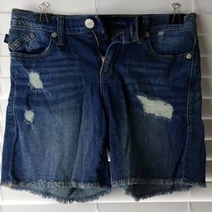 Rock & Republic Distressed Shorts Size 4